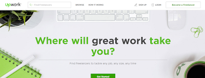 Make money with Upwork freelance site