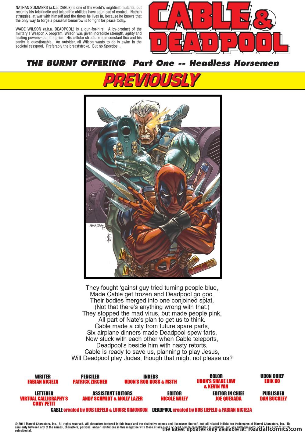 Cable & Deadpool 007 (2004) | Viewcomic reading comics