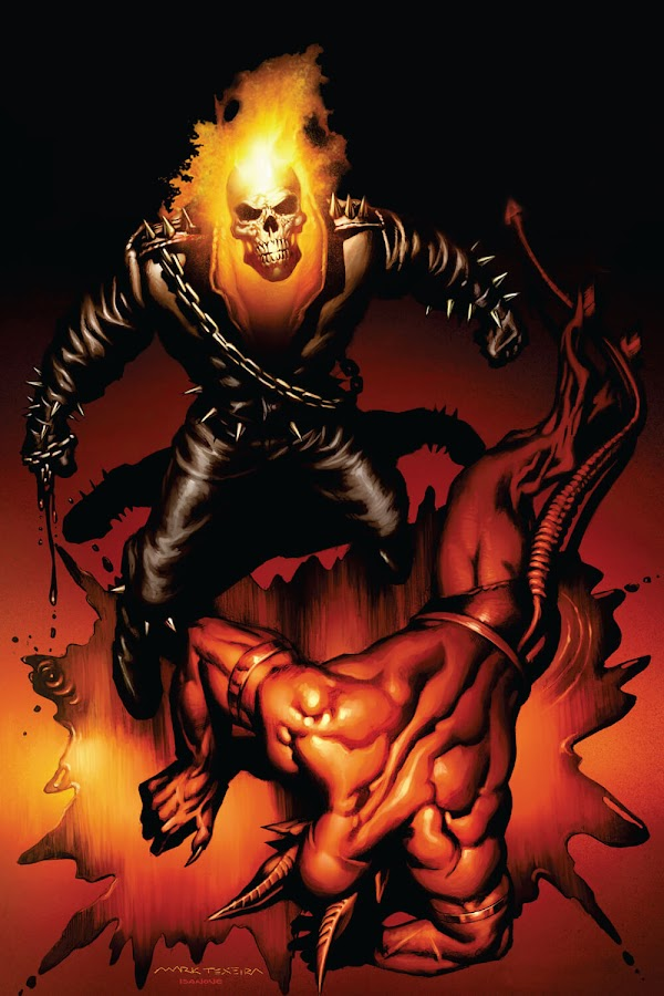 ghost rider vs lucifer