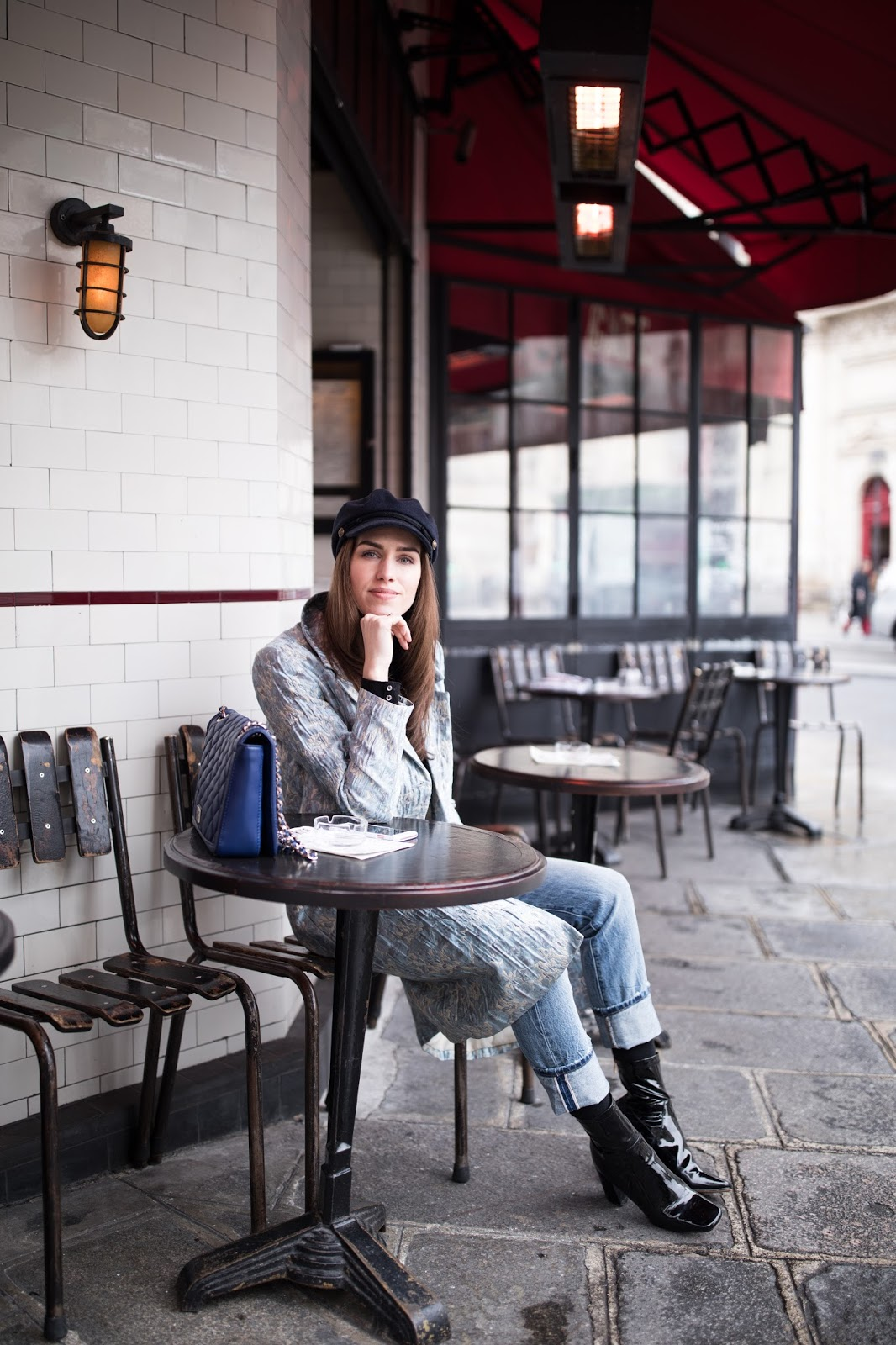 kristjaana mere paris cafe street style fashion