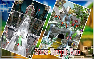 Game Snow Temple Run Apk