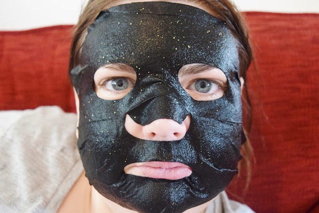 Zero Skin 24K Gold Hydrating Black Charcoal Mask