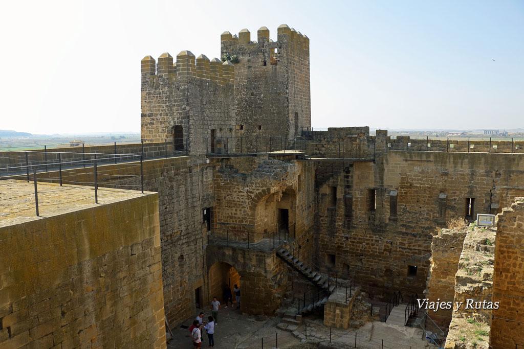 Castillo de Sádaba, Comarca de las cinco villas, Zaragoza
