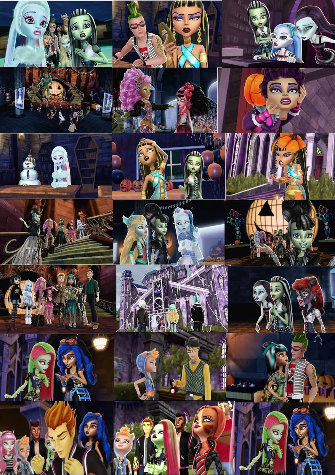 monster high ghouls rule cast