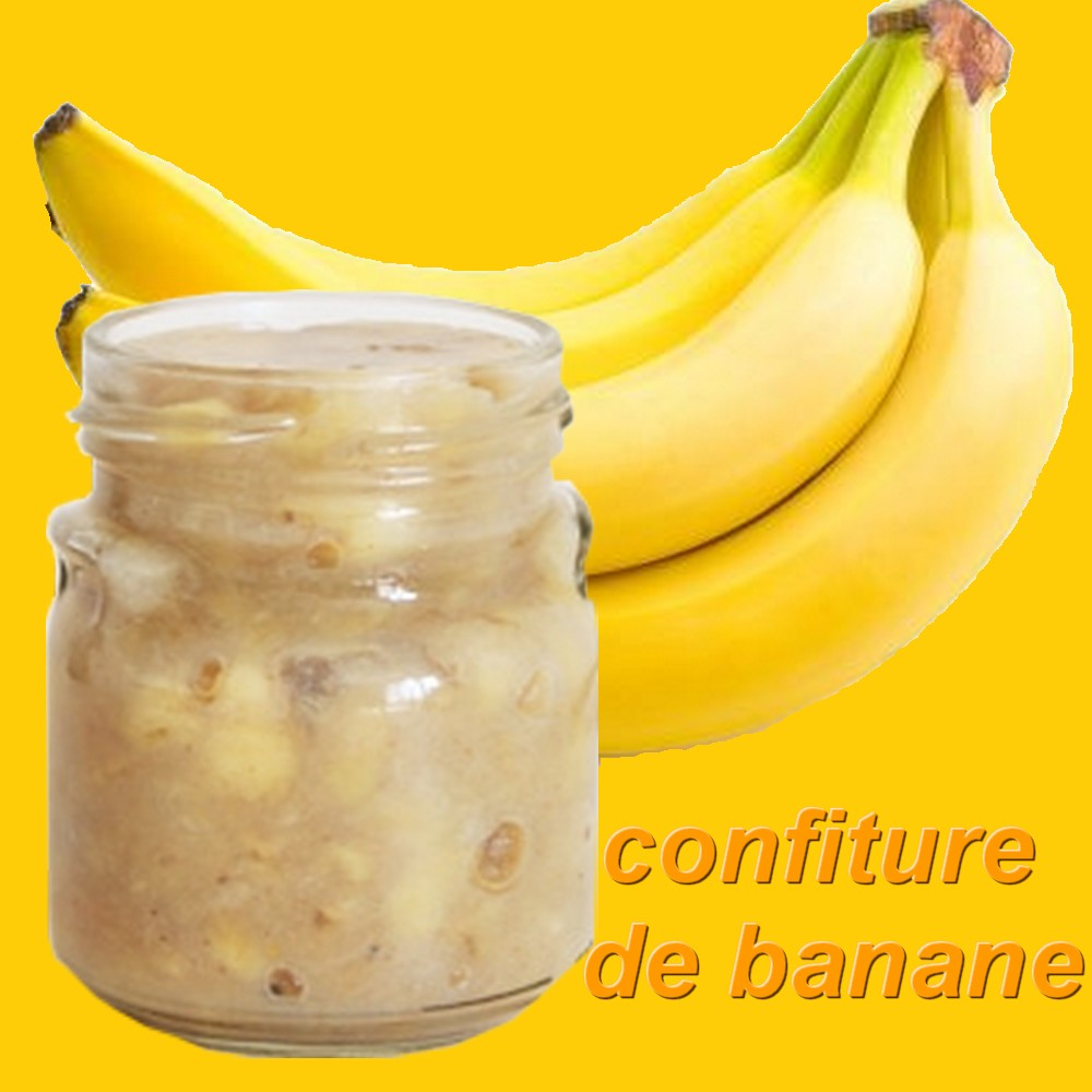 recette confiture de bananes thermostat 6 7 four. Black Bedroom Furniture Sets. Home Design Ideas