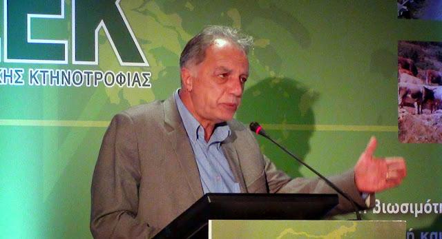 Πρόεδρος του Συνδέσμου Ελληνικής Κτηνοτροφίας αναδείχτηκε παμψηφεί και για τρίτη τετραετία ο Παναγιώτης Πεβερέτος