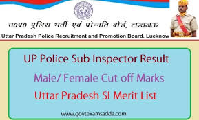 UP Police SI Result 2017-18 - Check your Sub Inspector Result Online