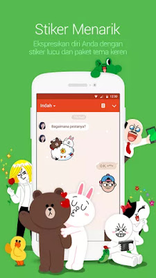 Download LINE: Free Calls & Messages Apk Versi MOD