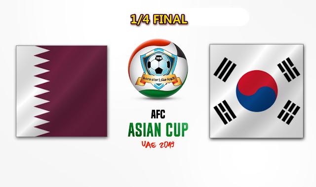 مشاهدة مباراة قطر وكوريا الجنوبية بث مباشر 25-01-2019 كاس اسيا