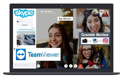 Free Download: Skype_Team Viewer_Gramblr Software, Make Your