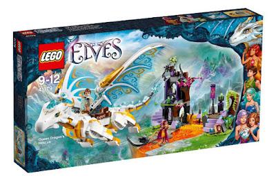 TOYS : JUGUETES - LEGO Elves  41179 Rescate del Dragón de la Reina  Queen Dragon's Rescue  Producto Oficial 2016 | Piezas: 833 | Edad: 9-12 años  Comprar en Amazon España & buy Amazon USA