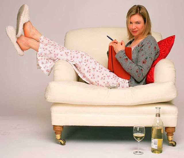 Bridget Jones figurino