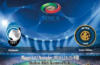 Prediksi Atalanta vs Inter Milan 11 November 2018