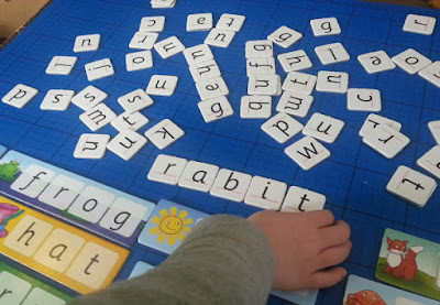 Forming words at 4 and 5 games