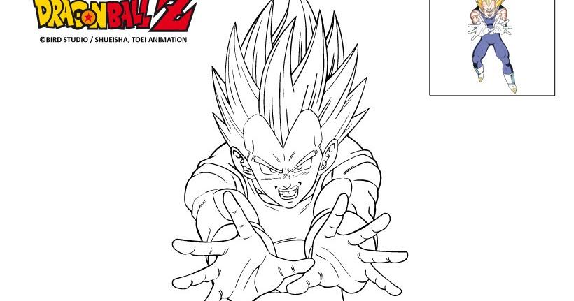 Foto Da Colorare Di Dragon Ball 10 Disegni Da Colorare Di