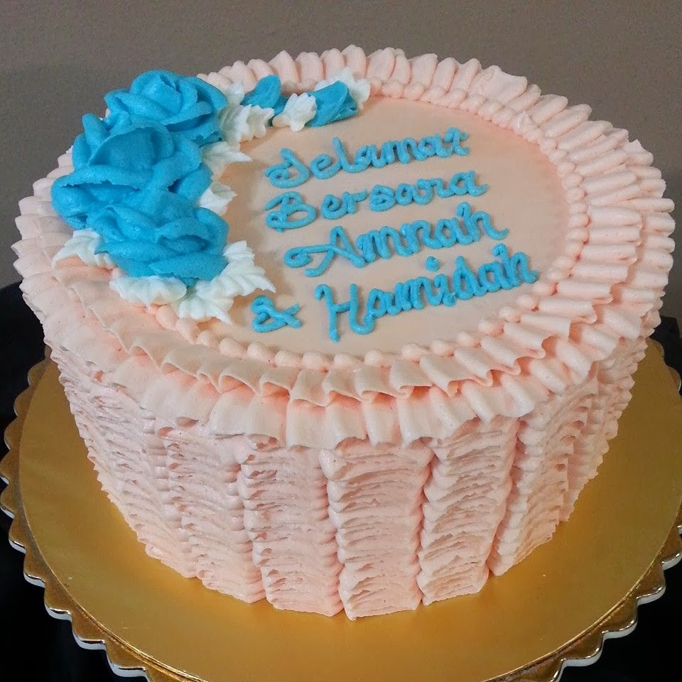 Everything You Need To Know About Wedding Cake: GG Home Biz Cakes & Wedding Cakes: Peach & Teal