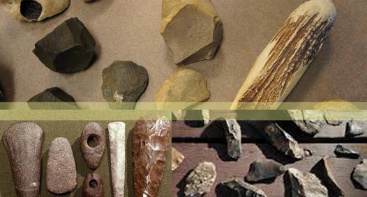 Gambar Jenis batu pada zaman batu