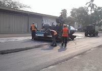 alat pelapisan asphalt hotmix