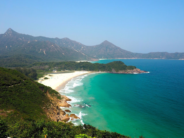 Tai Long Wan beach and bay, New Territories, Hong Kong