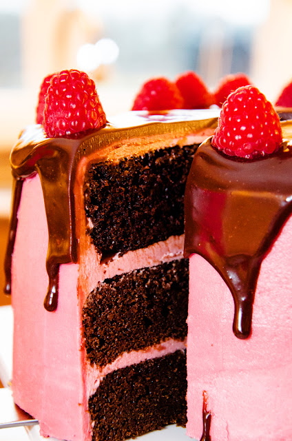 GBC Chocolate Raspberry  13 - Raspberry Chocolate Cake