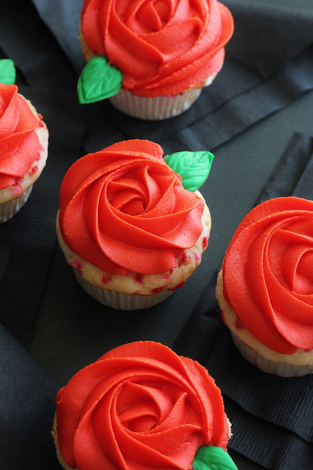 Valentine S Day Cupcakes Classic Rosette Cupcakes