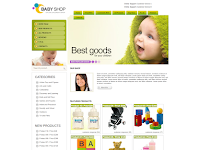 Baby Shop Blogger Template