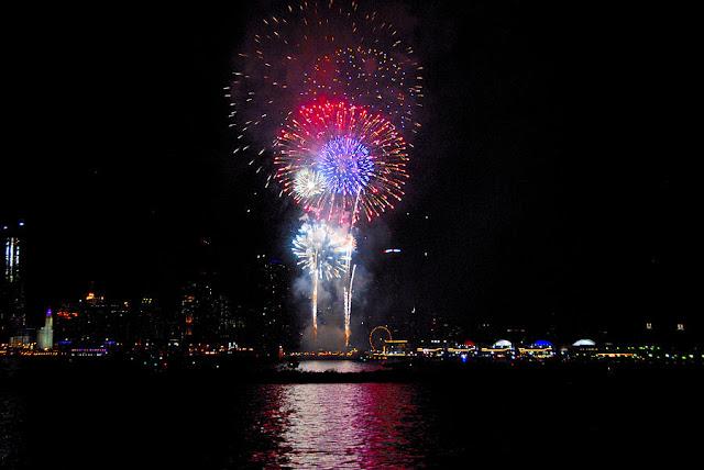 Navy Pier fireworks 2016