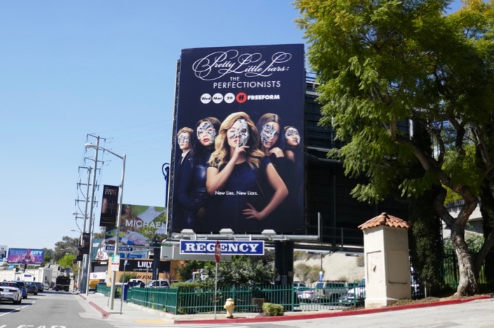 Pretty Little Liars Perfectionists billboard