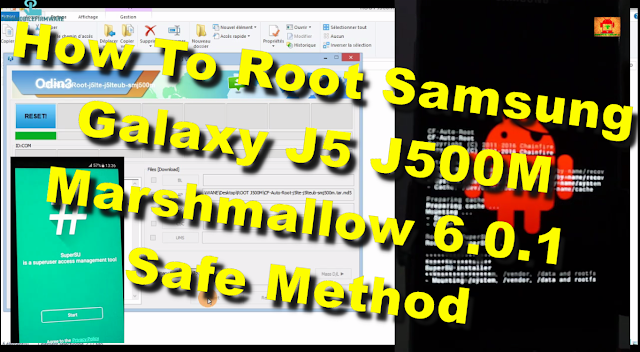How To Root Samsung Galaxy J5 J500M Marshmallow 6.0.1 Tested Safe method