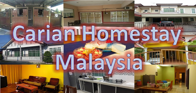 Giveaway Carian Homestay Malaysia