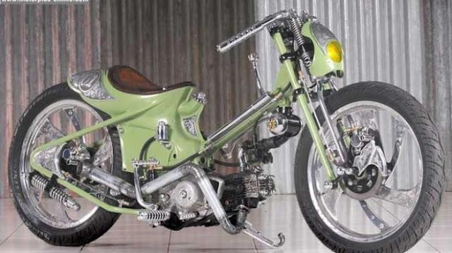 Modif Motor Lawas Honda