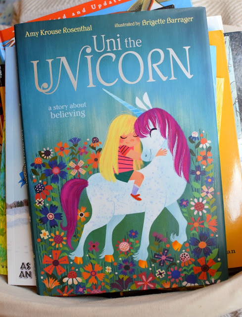Uni the Unicorn, part of August reading roundup favorite book selections