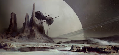 Nova artwork. Samuel Delany