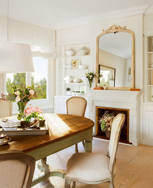 Classic Shabby Chic Apartment - Cool Chic Style Fashion