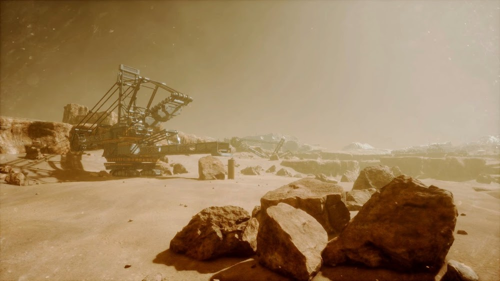 Memories of Mars game image - mining machinery