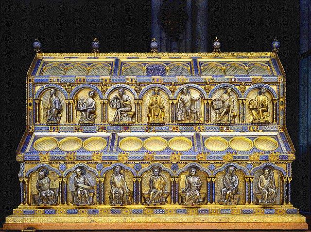 Araceli Rego Del óleo Al Cincel Relicario De Los Tres Reyes Magos