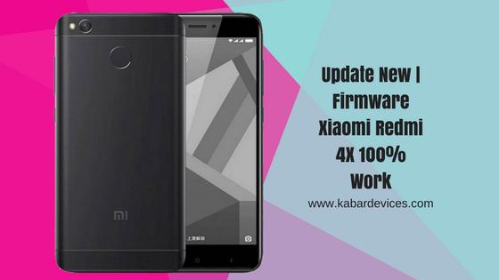 berjumpa kembali bersama admin yang selalu berbagi ilmu yang bermanfaat Update New | Firmware Xiaomi Redmi 4X 100% Work