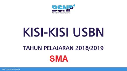 Download Kisi Kisi Usbn Sma Ma 2019 Kurikulum K2016 Dan K2013 Tahun Pelajaran 2018 2019 Tomatalikuang Com Berita Pendidikan Terbaru