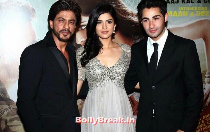 Shah Rukh Khan, Deeksha Seth, Armaan Jain