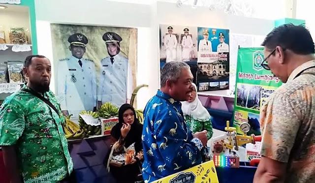 Karya siswa Lumajang yang dipamerkan di Bali