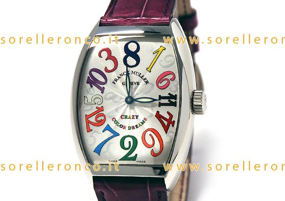 Fino ad oggi una delle poche certezze al mondo era la sequenza dei numeri  sul quadrante degli orologi. Franck Muller con il suo Crazy Hours Color  Dream ha ... bcef95d9dc0