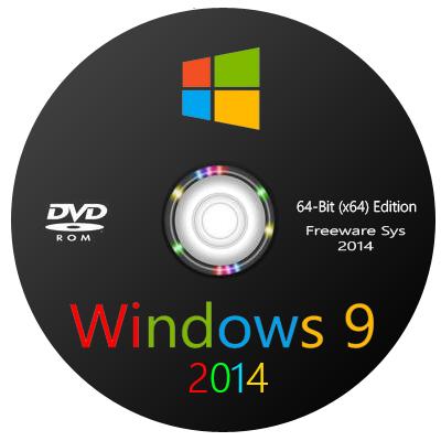 نسخة ويندوز 7 المعدله بستايل ويندوز 9 Windows 9 Professional EN/FR 2014 X64 بأخر التحديثات والبرامج الهامه روابط مباشرة coobra.net