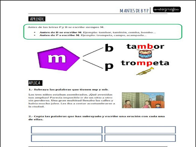 ortografia,reglas,primaria,niños,alumnos