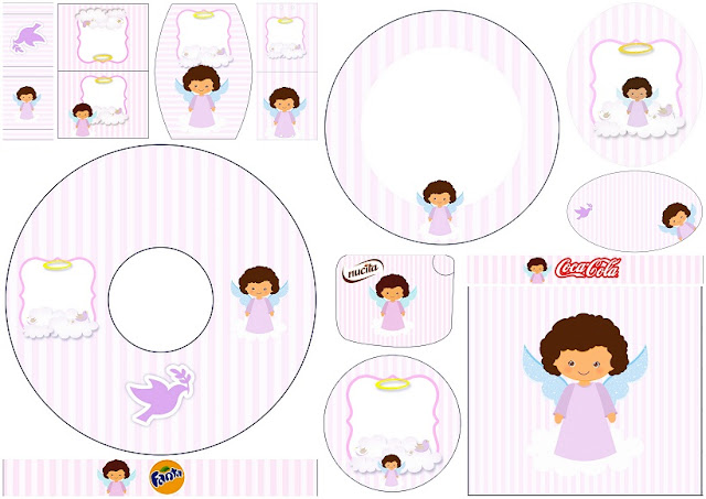 Brunette Angel Girl: Free Printable Candy Bar Labels.