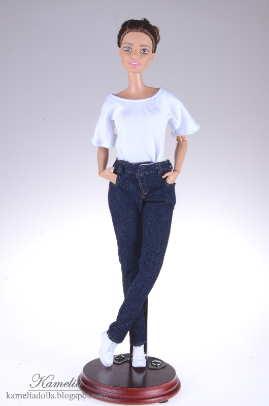 Jeans for Barbie dolls.