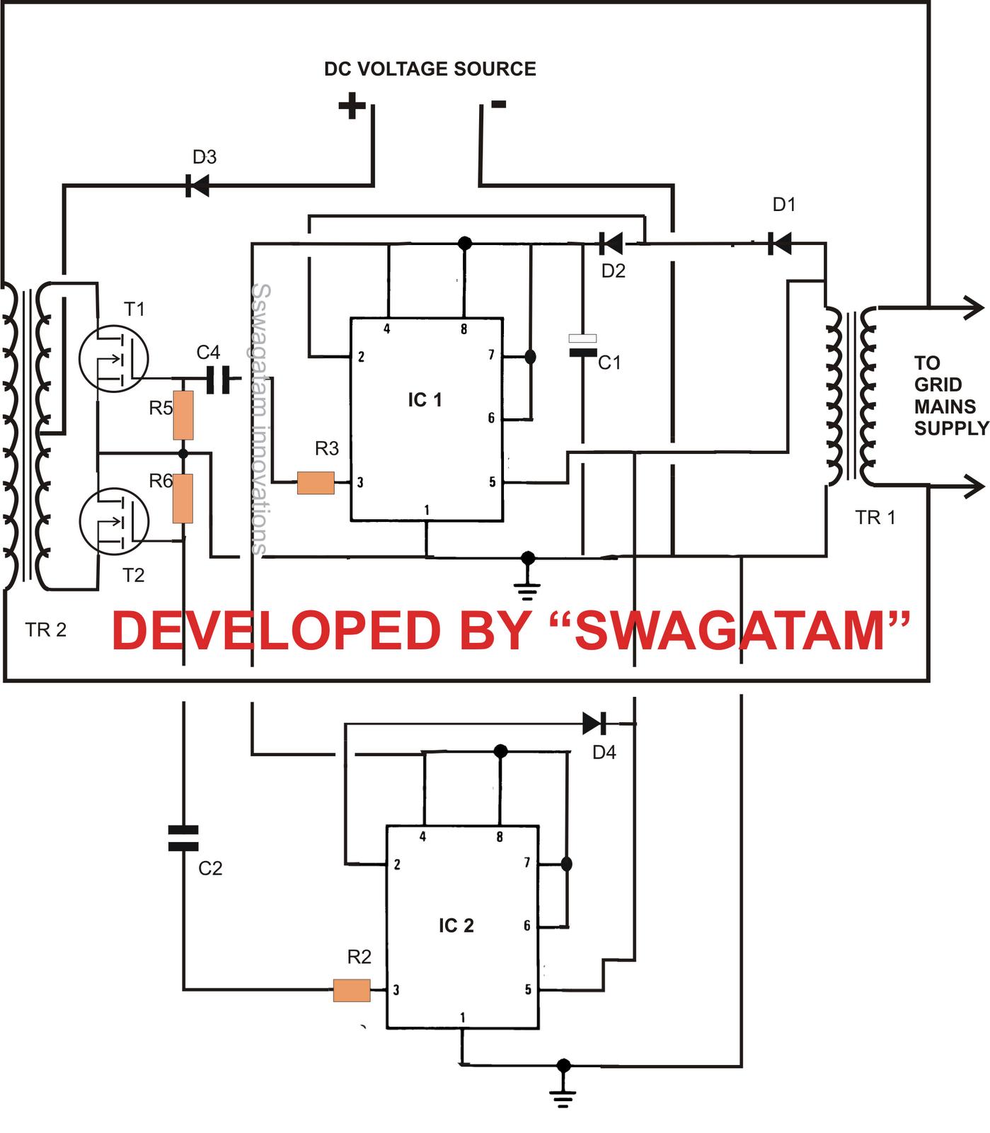 Circuits Gt How To Build A 2kva Inverter Circuit Diagram