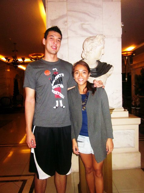 Mico Halili Greg Slaughter  a man of great heights By