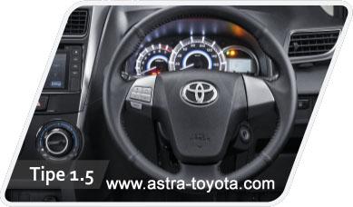 Interior Toyota Grand New Avanza Tipe E G Dan Grand New