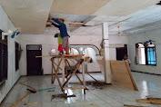 Meski Jauh dari Keluarga, Satgas TMMD Kodim 0601/Pandelang Tetap Semangat Bekerja