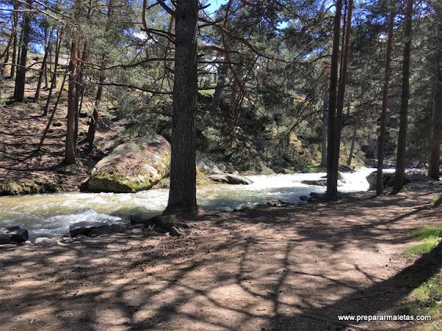 trekking por segovia